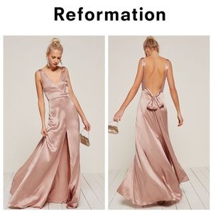 🥂COMING SOON🥂Reformation Eliana Dress in Blush